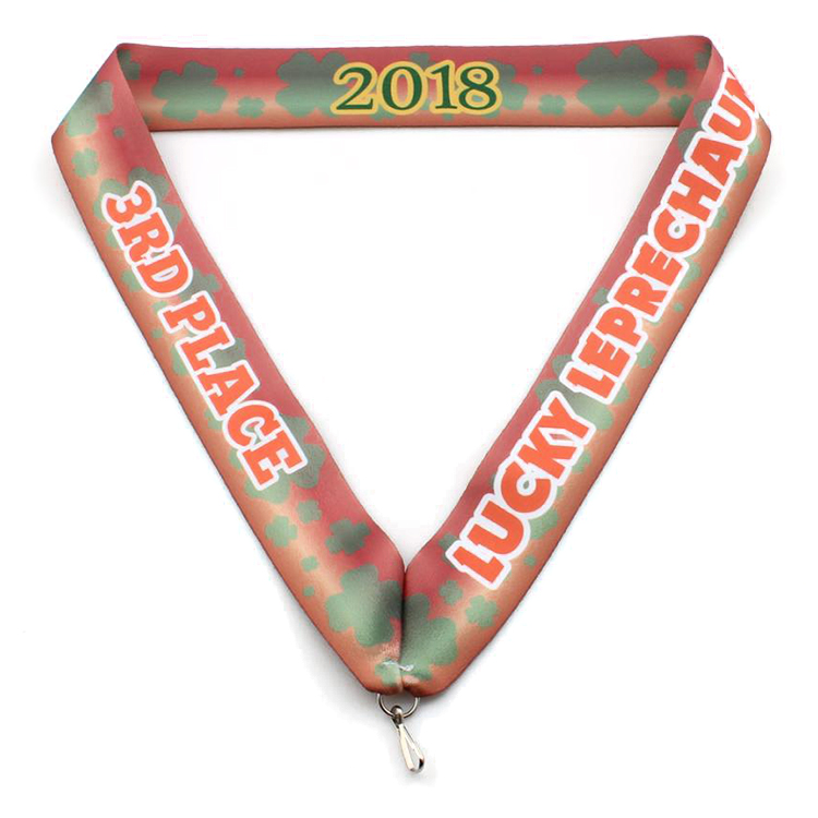 Factory source Id Card Holder Lanyard - Custom high quality personalized polyester medal lanyard – February Webbing