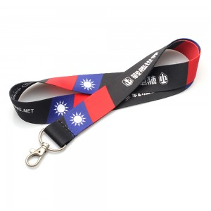 Wholesale imprinted carabiner lanyards with custom logo in smart phone case