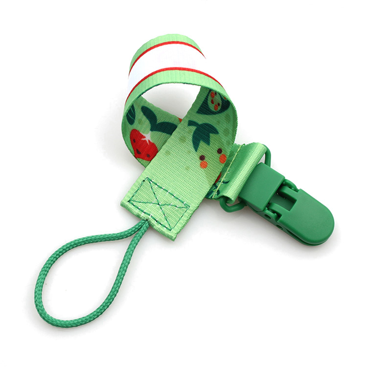 Hot sale High Quality Pet Leash - 2019 hot sale eco-friendly baby feeding plastic dummy chain – February Webbing