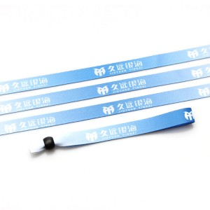 Manufacturer direct sales wristband with custom slide lock for party